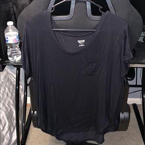 Black v neck